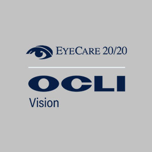 Eye Care 20/20 and OCLI logo